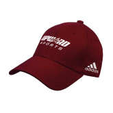Adidas Cardinal Structured Adjustable Hat-Upward Sports