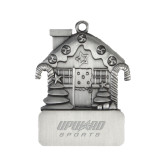 Pewter House Ornament-Upward Sports Engraved
