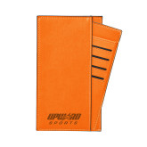 Parker Orange RFID Travel Wallet-Upward Sports Engraved