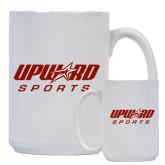 Full Color White Mug 15oz-Upward Sports