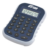 Blue Large Calculator-Upward Stars