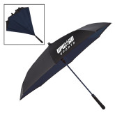 48 Inch Auto Open Black/Navy Inversion Umbrella-Upward Sports