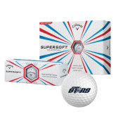 Callaway Supersoft Golf Balls 12/pkg-Upward Stars