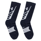 Adult Navy And White Socks-