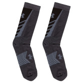 Under Armour Grey/Iron Undeniable Crew Sock-
