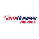 Extra Large Decal-South Alabama Jaguars, 18 inches wide