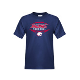 Youth Navy T Shirt-Jaguars Football In Ball