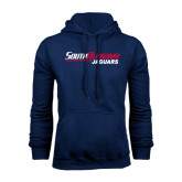 Navy Fleece Hood-South Alabama Jaguars