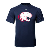 Under Armour Navy Tech Tee-Jag Head