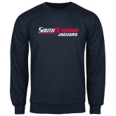 Navy Fleece Crew-South Alabama Jaguars