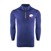 Under Armour Navy Tech 1/4 Zip Performance Shirt-Jag Head