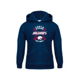 Youth Navy Fleece Hoodie-Jaguars Softball Seams