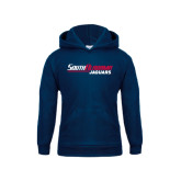 Youth Navy Fleece Hoodie-South Alabama Jaguars