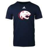 Adidas Navy Logo T Shirt-Jag Head