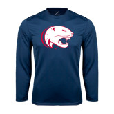 Performance Navy Longsleeve Shirt-Jag Head