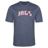 Performance Navy Heather Contender Tee-Jags Arched