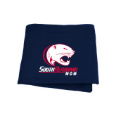 Navy Sweatshirt Blanket-Mom