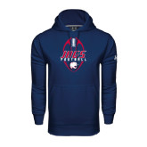 Under Armour Navy Performance Sweats Team Hoodie-Jags Football Tall