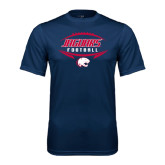 Performance Navy Tee-Jaguars Football In Ball