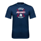 Performance Navy Tee-Jaguars Baseball Seams