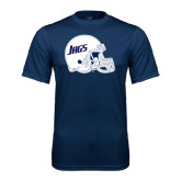 Performance Navy Tee-Jags Helmet