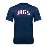 Performance Navy Tee-Jags Arched