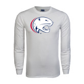 White Long Sleeve T Shirt-Jag Head
