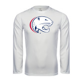 Syntrel Performance White Longsleeve Shirt-Jag Head