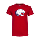 Youth Red T Shirt-Jag Head