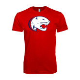 SoftStyle Red T Shirt-Jag Head