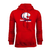 Red Fleece Hood-Alumni