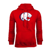 Red Fleece Hoodie-Jag Head