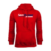 Red Fleece Hoodie-South Alabama Jaguars