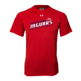 Under Armour Red Tech Tee-South Alabama Jaguars Basketball Slanted
