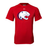 Under Armour Red Tech Tee-Jag Head