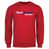 Red Fleece Crew-South Alabama Jaguars