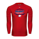 Under Armour Red Long Sleeve Tech Tee-Jaguars Football In Ball