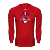 Under Armour Red Long Sleeve Tech Tee-Jags Football Tall