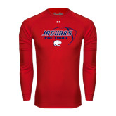 Under Armour Red Long Sleeve Tech Tee-Jaguars Football Stacked