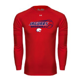 Under Armour Red Long Sleeve Tech Tee-Jaguars Baseball Flying Ball