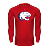 Under Armour Red Long Sleeve Tech Tee-Jag Head