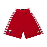 Adidas Climalite Red Practice Short-Official Logo