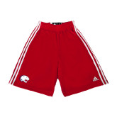 Adidas Climalite Red Practice Short-Jag Head