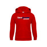 Youth Red Fleece Hoodie-South Alabama Jaguars