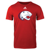 Adidas Red Logo T Shirt-Jag Head