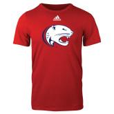 Adidas Red Logo T Shirt-Jag Head
