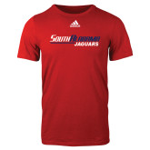 Adidas Red Logo T Shirt-South Alabama Jaguars