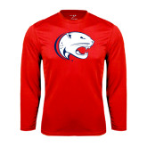 Performance Red Longsleeve Shirt-Jag Head