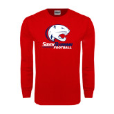 Red Long Sleeve T Shirt-Football