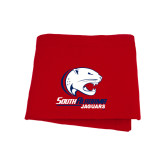 Red Sweatshirt Blanket-Official Logo